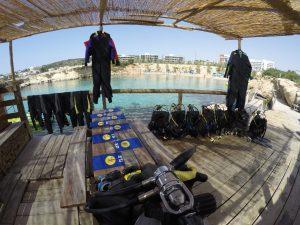 Dive Equipment Rentals in Cyprus!